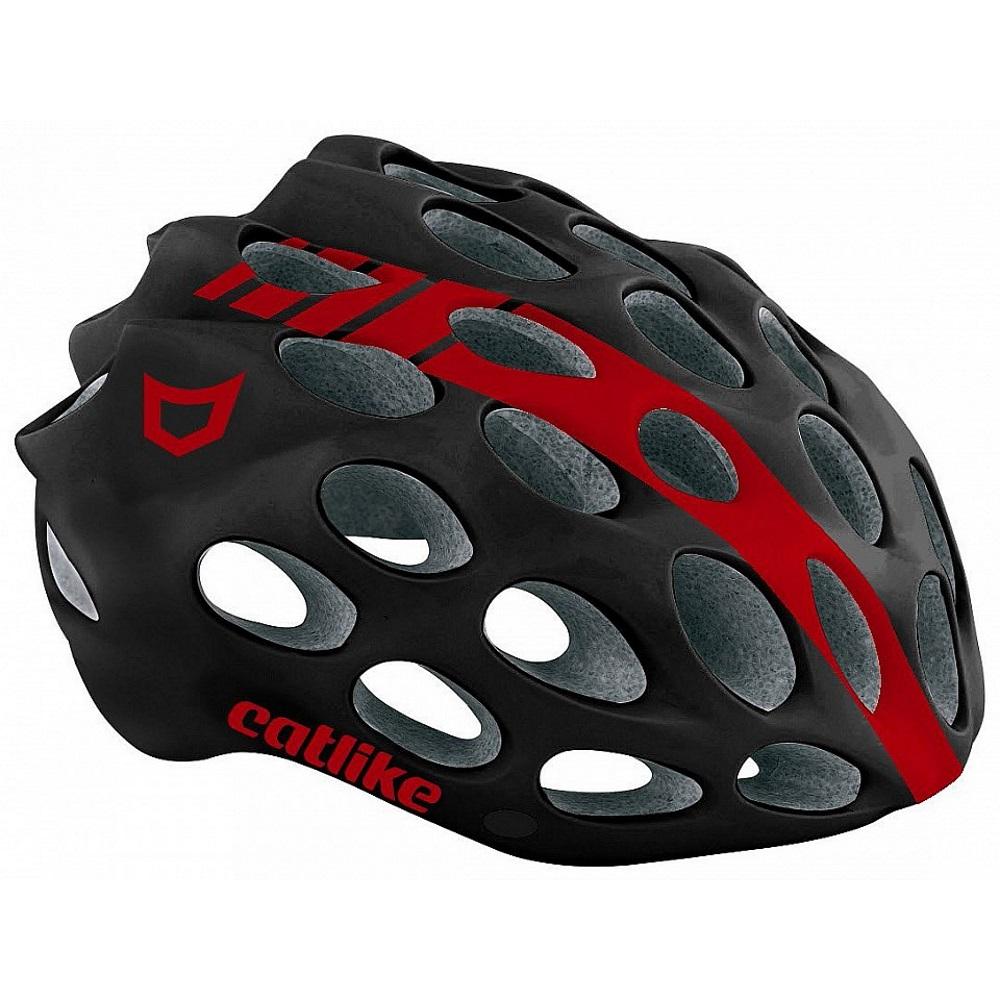 Cyklo přilba CATLIKE Whisper černo-červená - LG