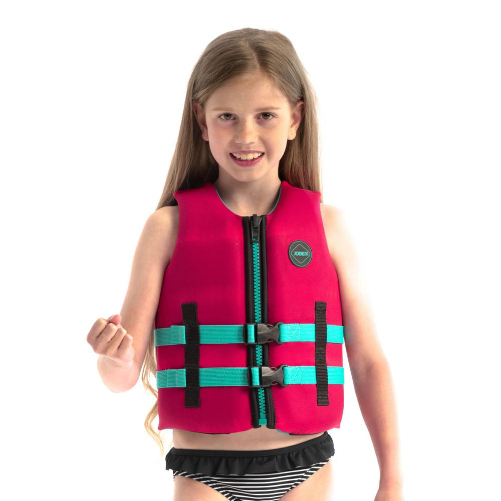 Dětská plovací vesta Jobe Youth Vest 2021 Hot Pink - 116