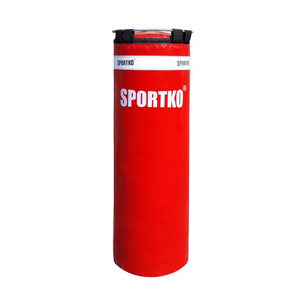 Boxovací pytel SportKO Classic MP4 32x85 cm červená
