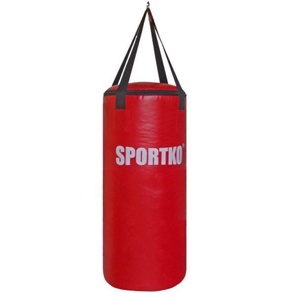 Dětský boxovací pytel SportKO MP6 29x75 cm červená
