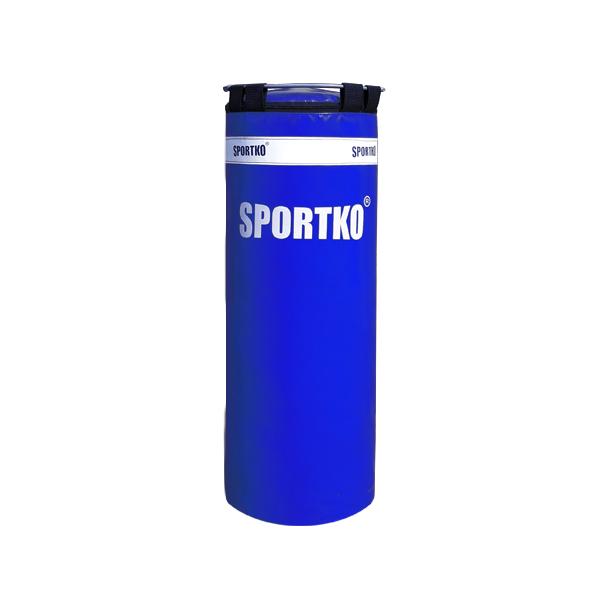Dětský boxovací pytel SportKO MP5 29x75 cm modrá