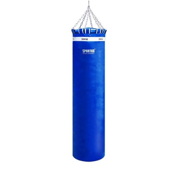 Boxovací pytel SportKO MP01 45x180 cm modrá