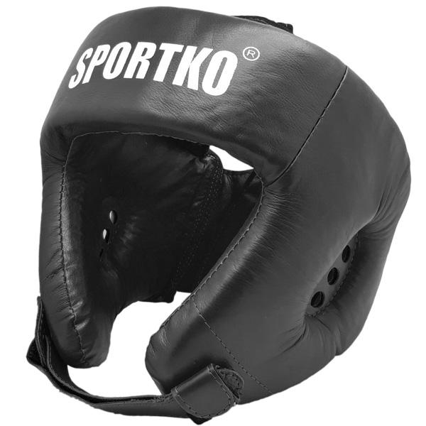 Boxerský chránič hlavy SportKO OK1 černá - M