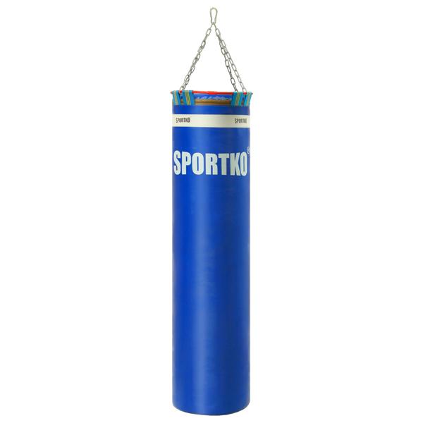 Boxovací pytel SportKO Elite MP00 35x130 cm modrá