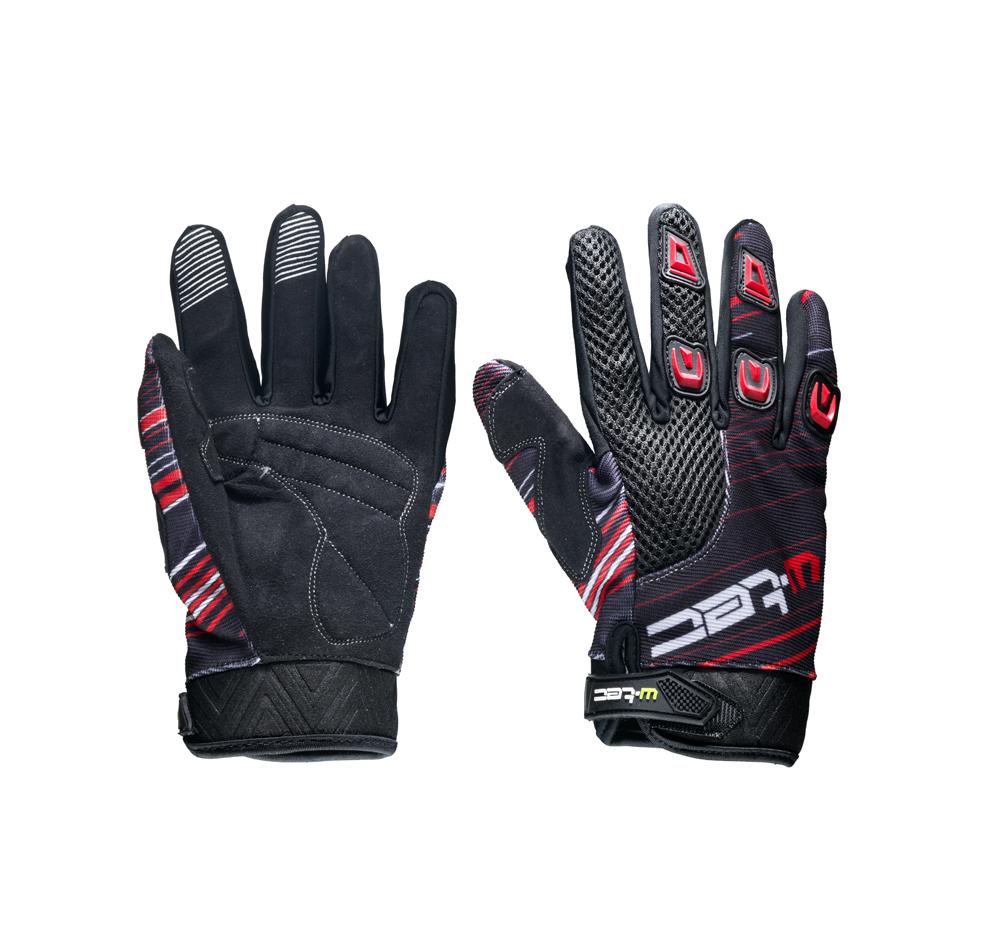 Moto rukavice W-TEC Heralt NF-5301 červená - XXL