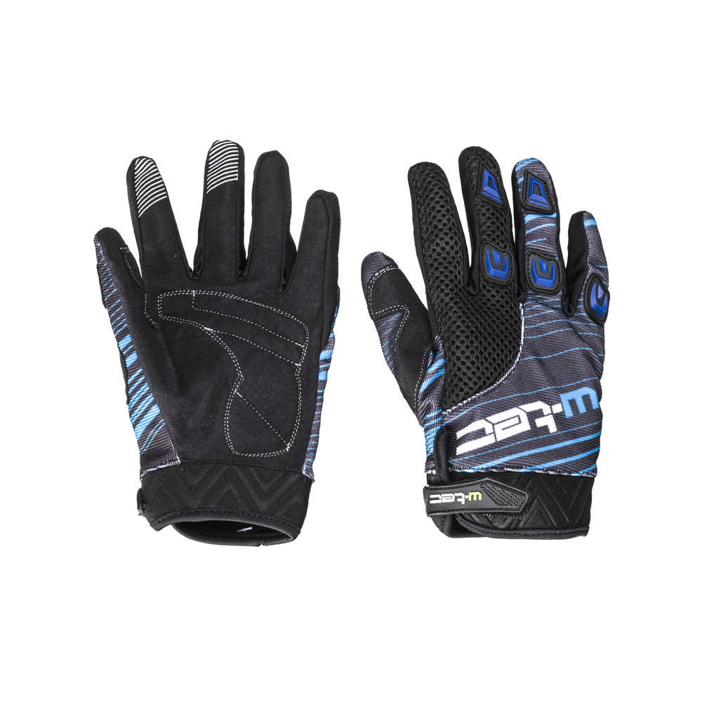 Moto rukavice W-TEC Heralt NF-5301 modrá - S