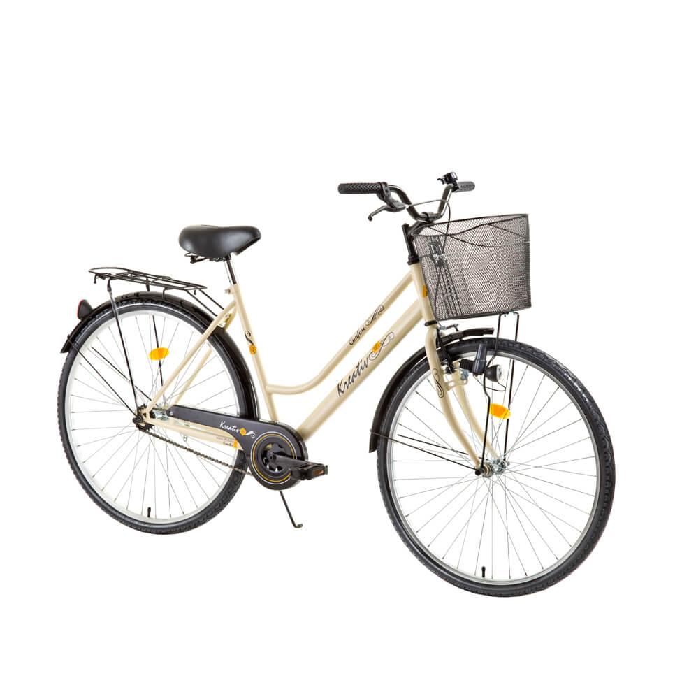 Dámské trekingové kolo Kreativ Comfort 2812 - model 2016 Creme