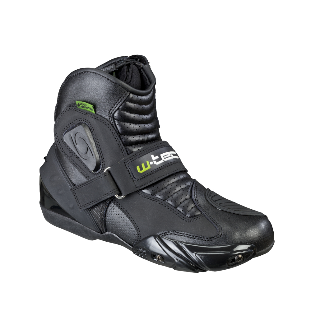 Pánské kožené moto boty W-TEC Tochern NF-6032 - černá - inSPORTline 8290f483e9