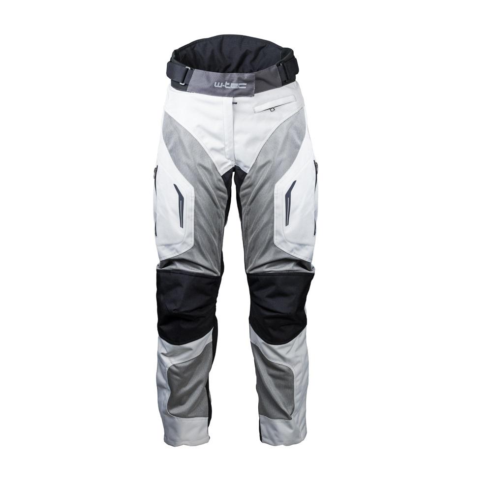 Damské letní moto kalhoty W-TEC Umberto Lady šedo-černá - L