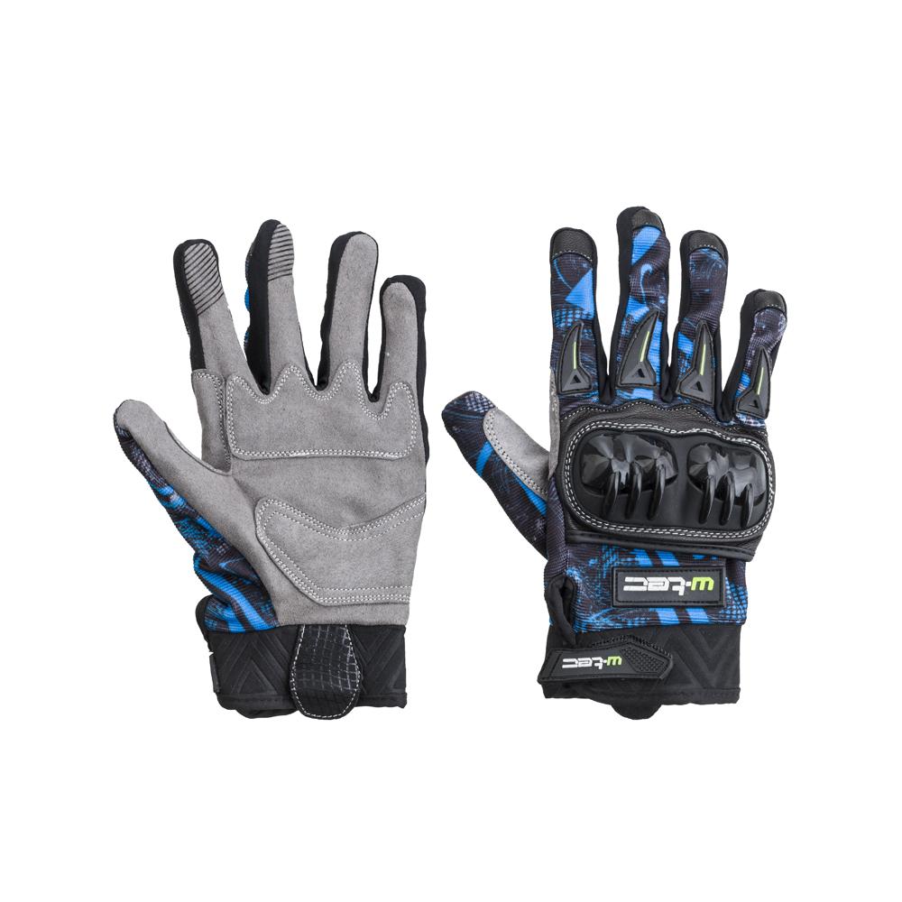 Moto rukavice W-TEC Hardta NF-5350 modrá - XS e960c04b9f