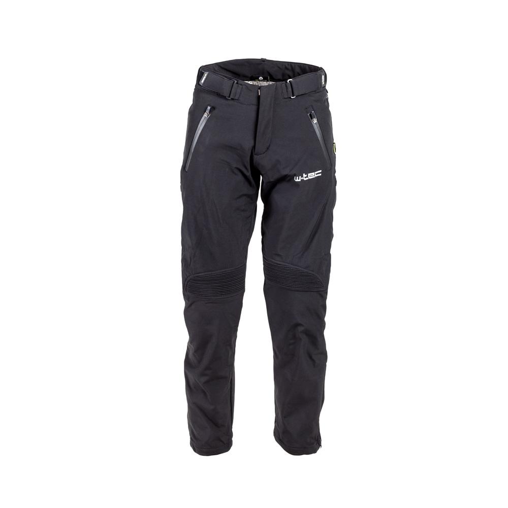 Pánské softshell moto kalhoty W-TEC Guslic NF-2801 černá - S