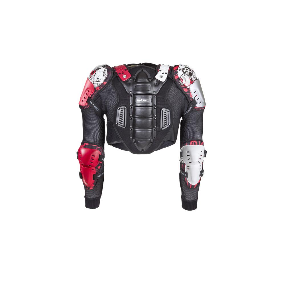 Dětský chránič těla W-TEC NF-3504 černo-červená - XS
