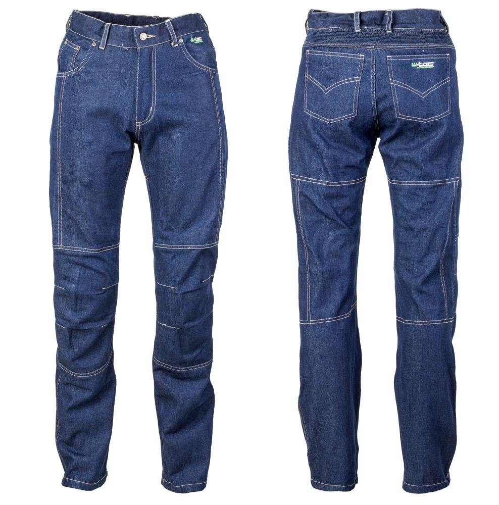 Pánské kevlarové moto jeansy W-TEC NF-2930