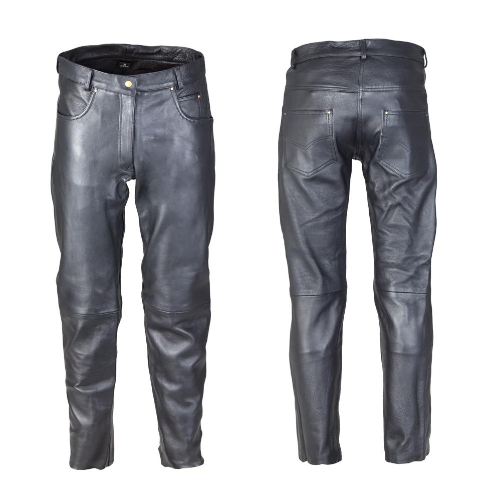 Dámské kožené moto kalhoty W-TEC Annkra NF-1250