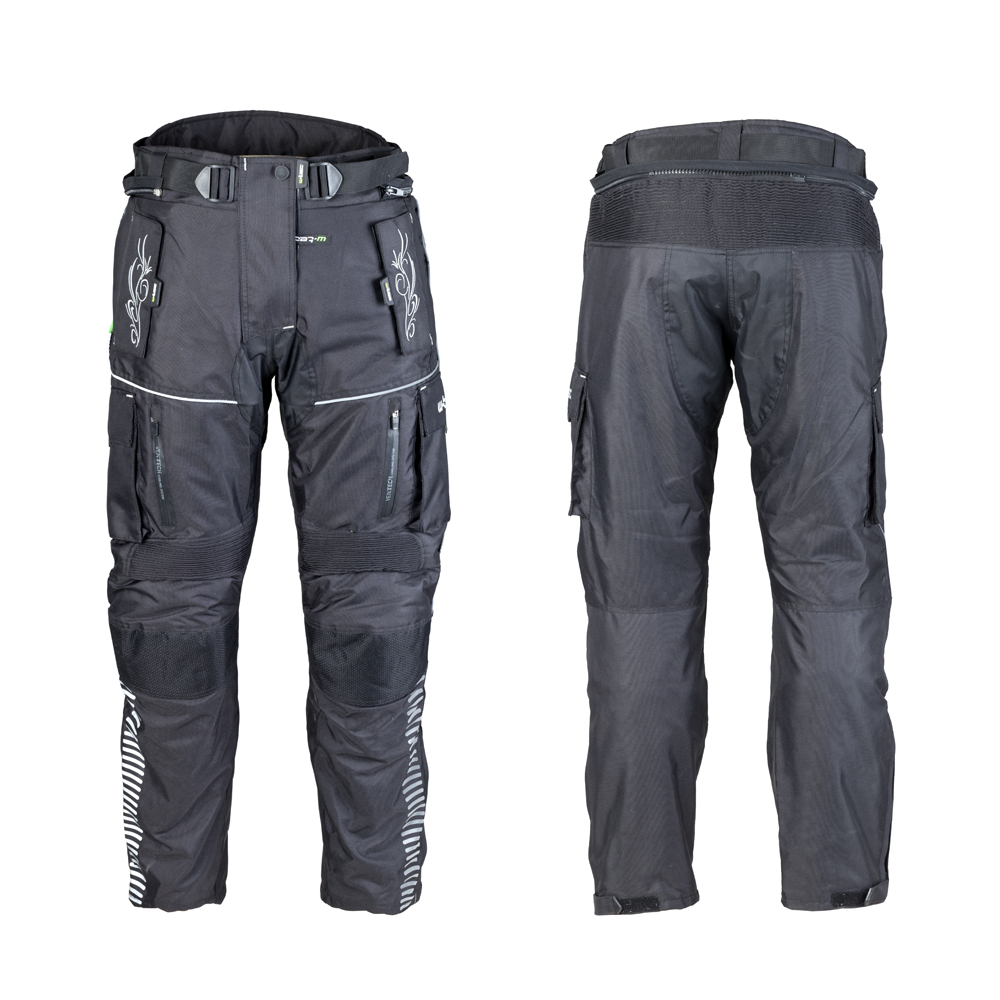 Dámské moto kalhoty W-TEC Mikusa NF-2680 černá - M
