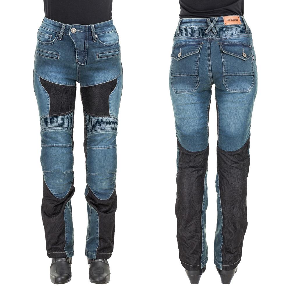 Dámské moto jeansy W-TEC Bolftyna