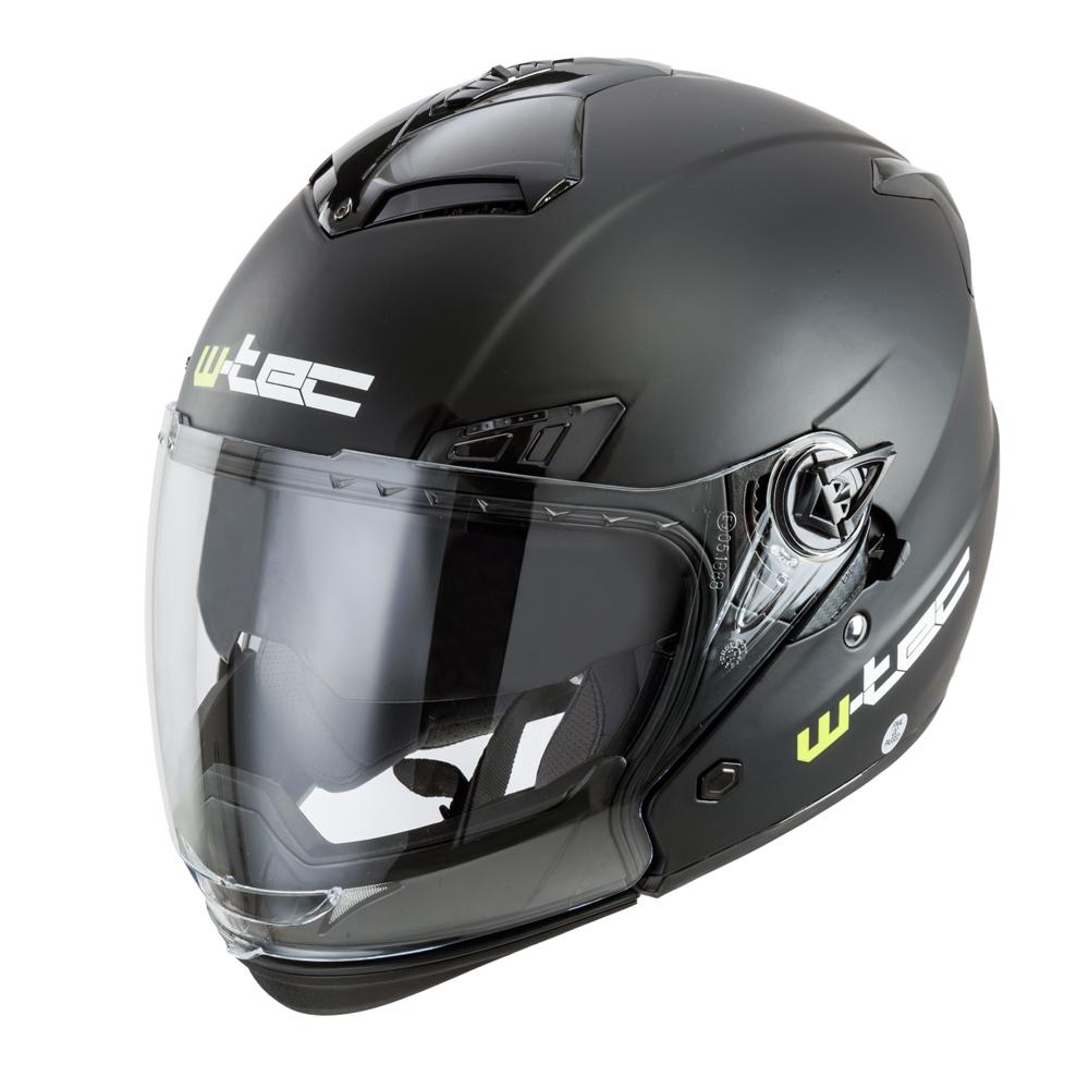 Moto helma W-TEC NK-850 matně černá - S (55-56)