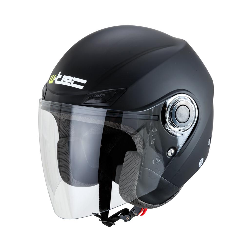 Moto helma W-TEC NK-627 matně černá - XS (53-54)