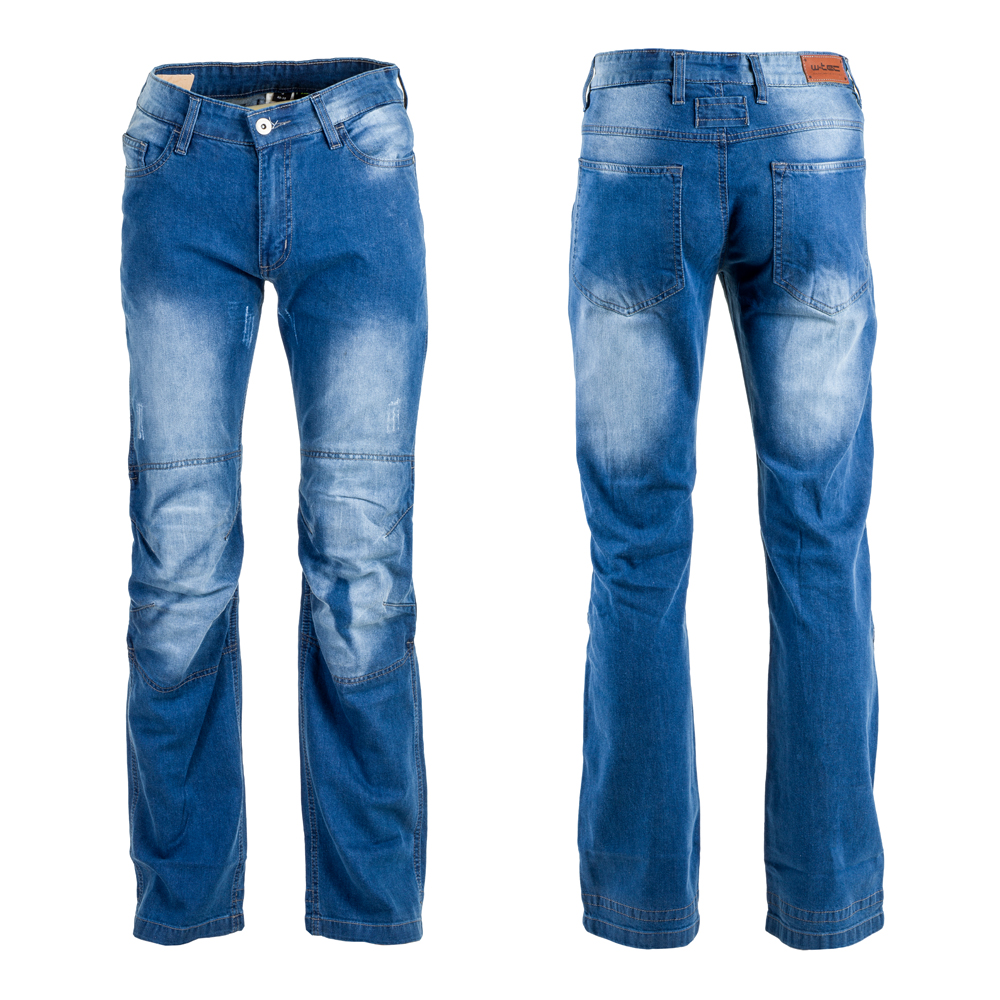 Pánské moto jeansy W-TEC Shiquet modrá - M