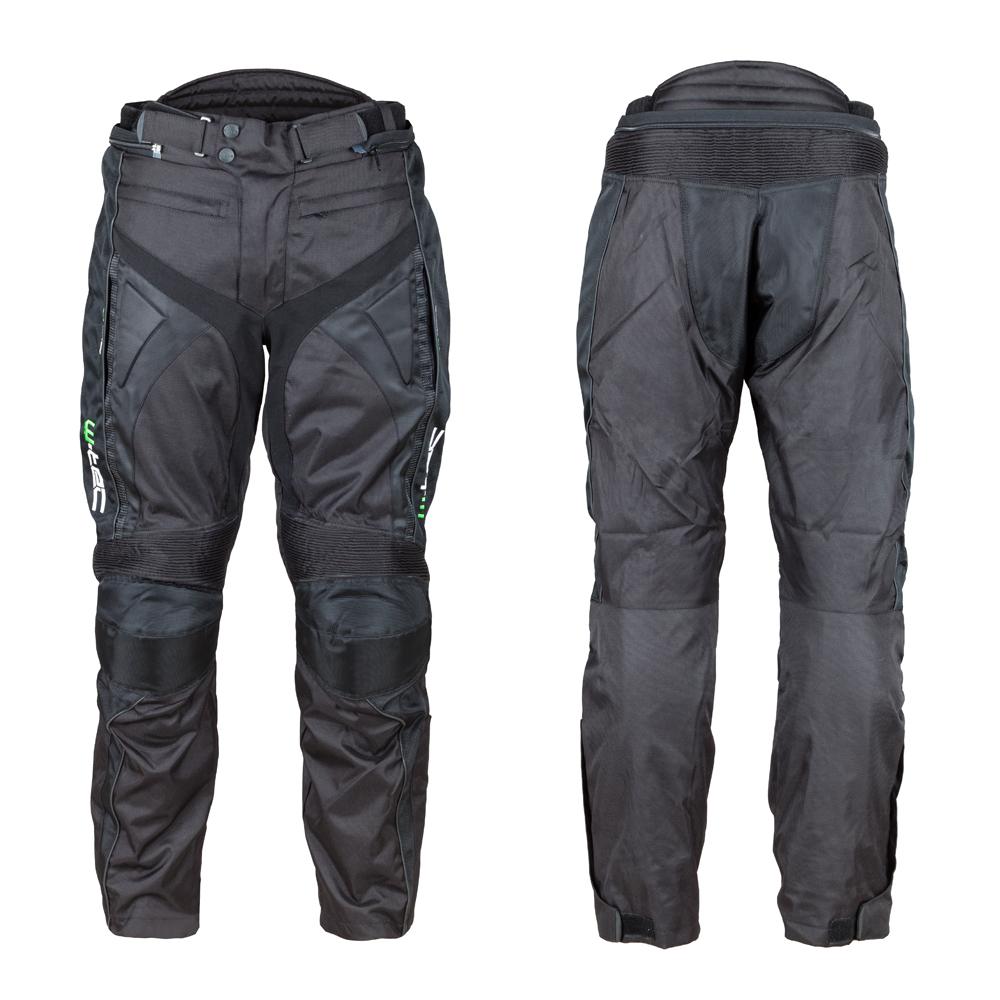 Motocyklové kalhoty W-TEC Anubis NEW černá - M