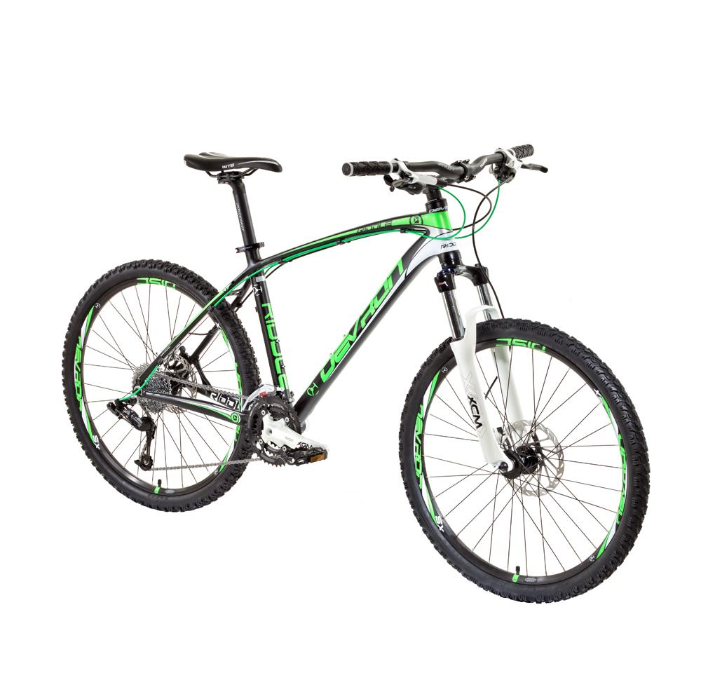 """Horské kolo Devron Riddle H2 - model 2014 černo-zelená - 19,5"""""""