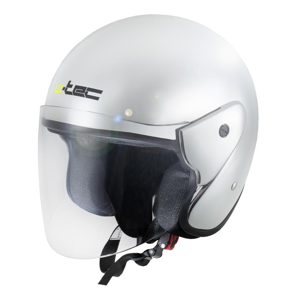 Moto přilba W-TEC AP-74 Chrome Mirror XL (61-62)