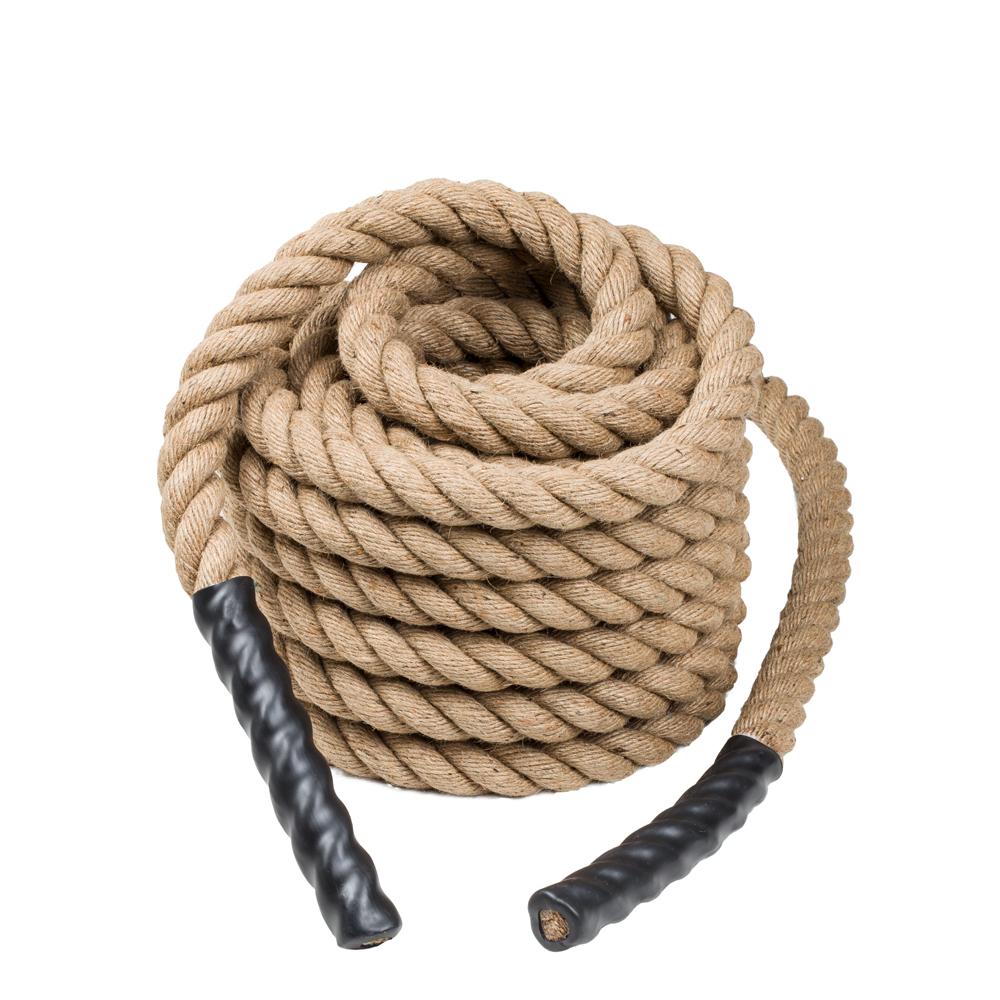 Posilovací lano inSPORTline WaveRope Base 4 x 1500 cm