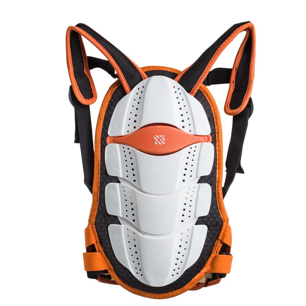 Chránič páteře Spartan Junior oranžovo-bílý