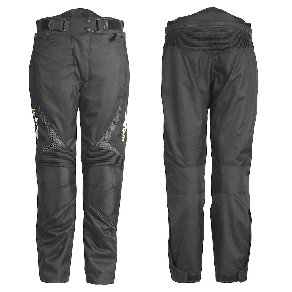 Unisex motocyklové kalhoty W-TEC Mihos černá - S