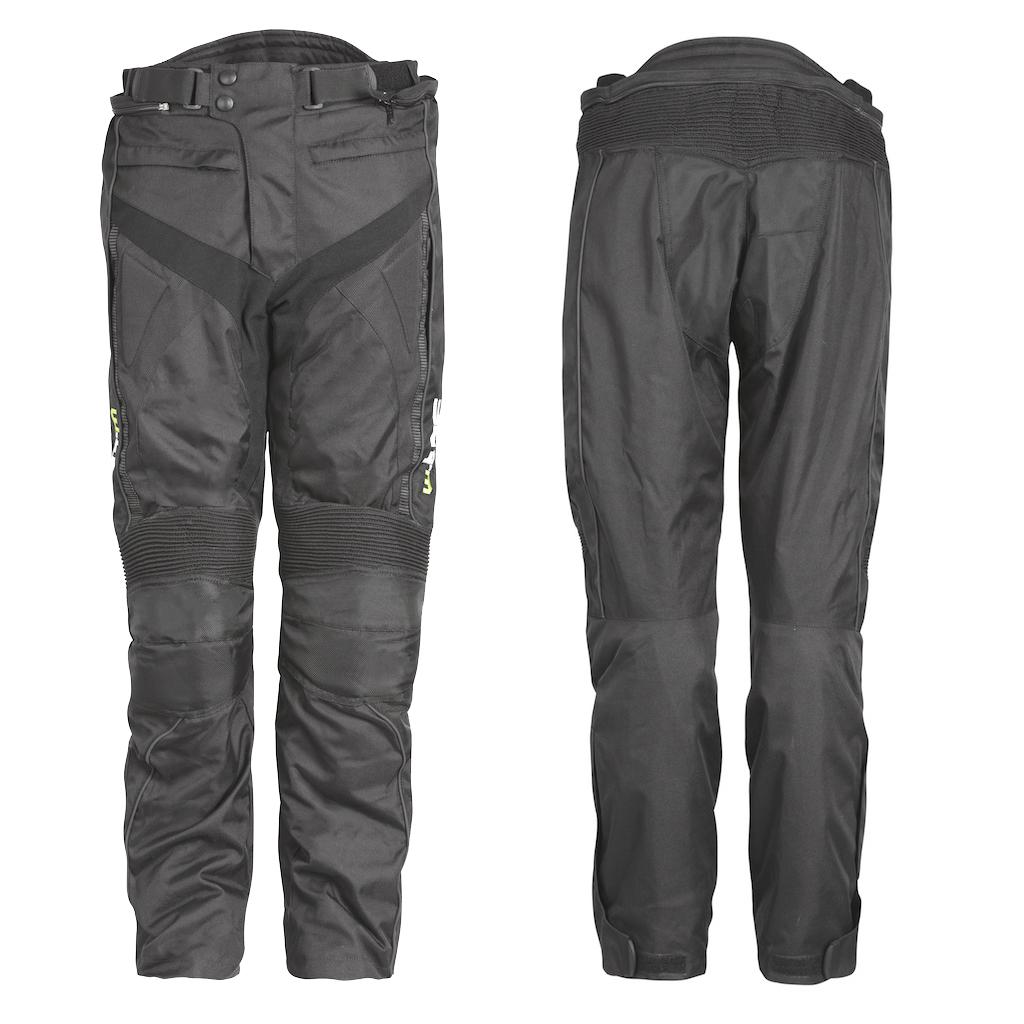 Motocyklové kalhoty W-TEC Anubis černá - S