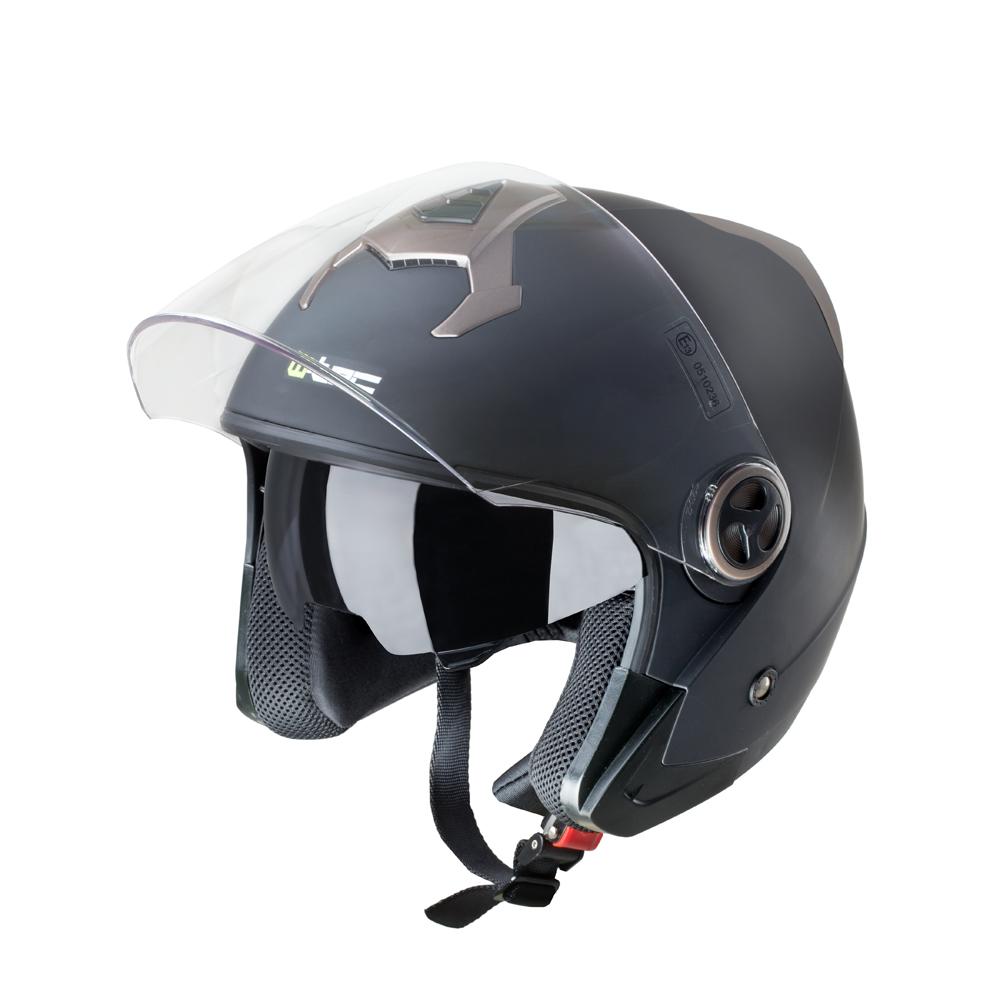 Moto přilba W-TEC YM-623 Matt Black-Bronze - XXL (63-64)