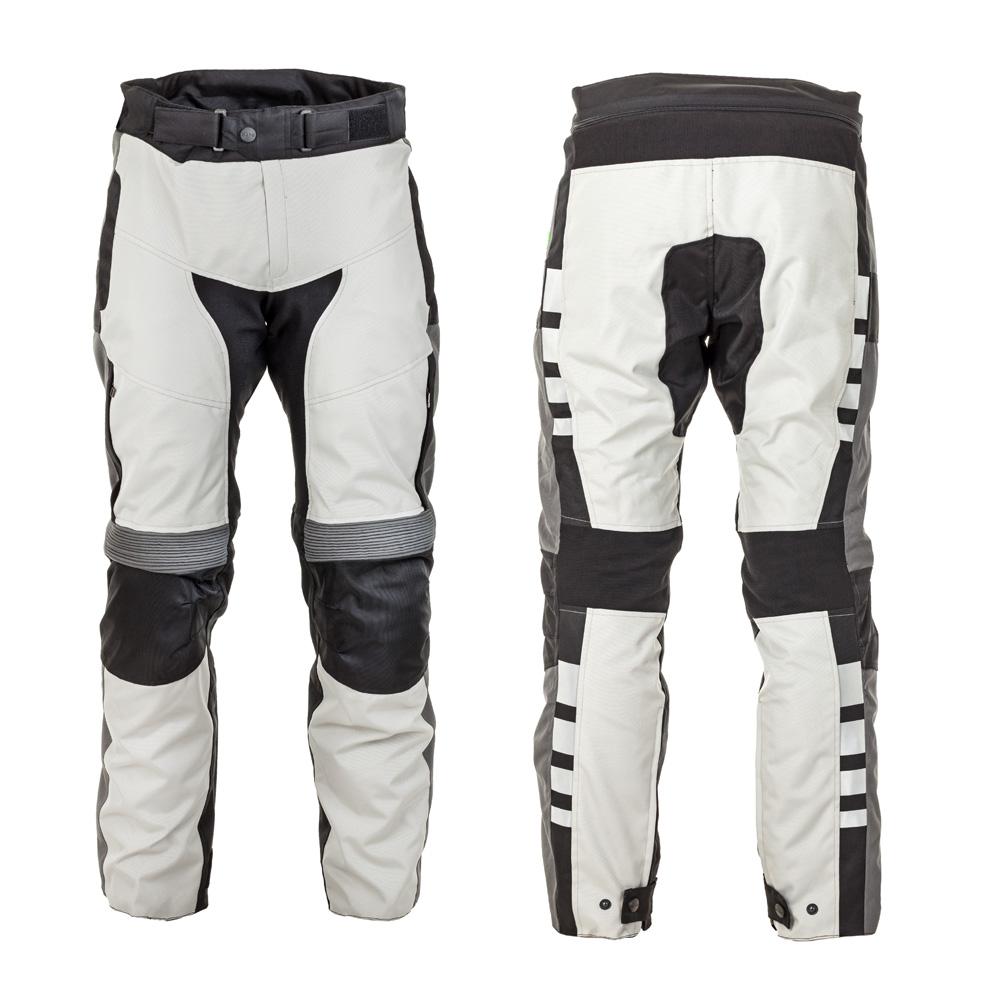 Moto kalhoty W-TEC Avontur šedo-černá - S