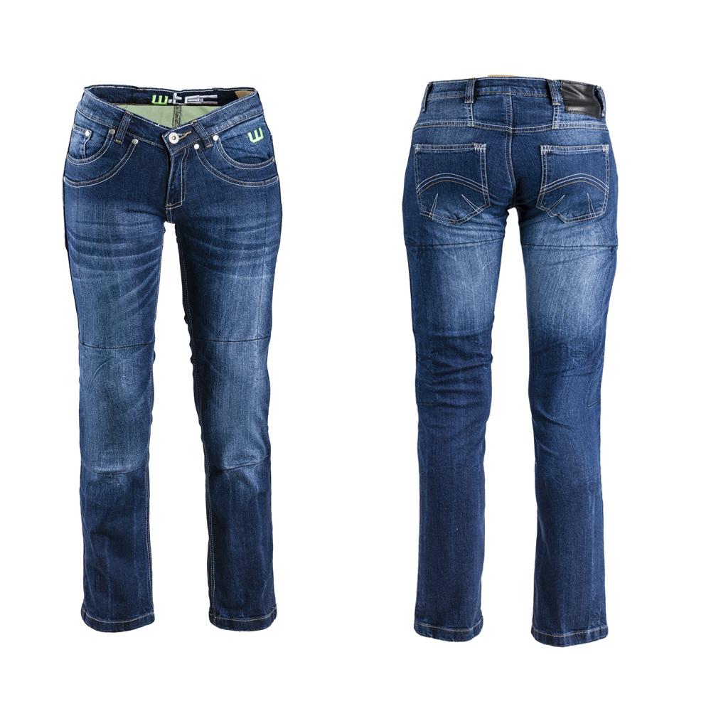 Dámské moto jeansy W-TEC B-2012 modrá - 29