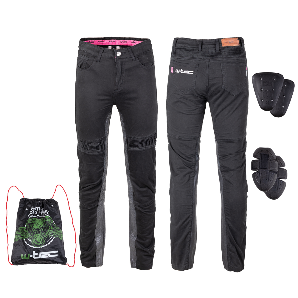 Dámské moto kalhoty W-TEC Ragana černá - S