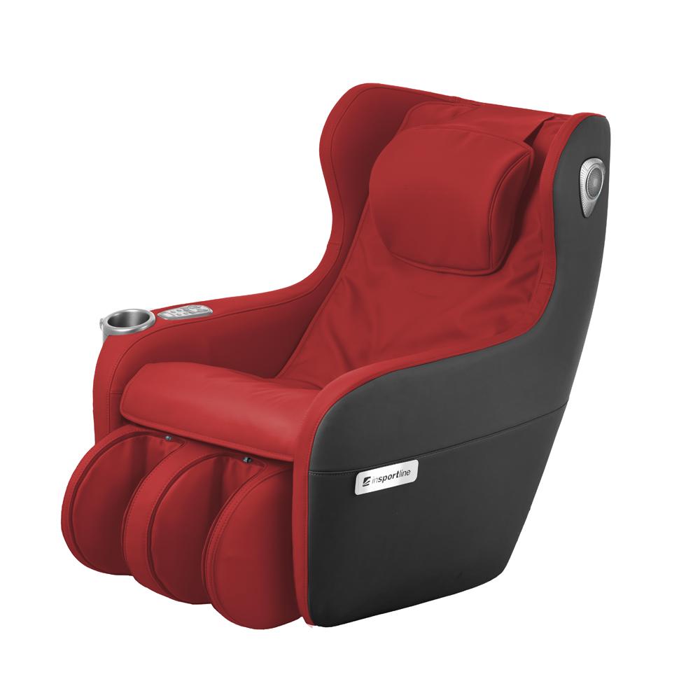 Masážní křeslo inSPORTline Scaleta II červeno-černá - Servis u zákazníka