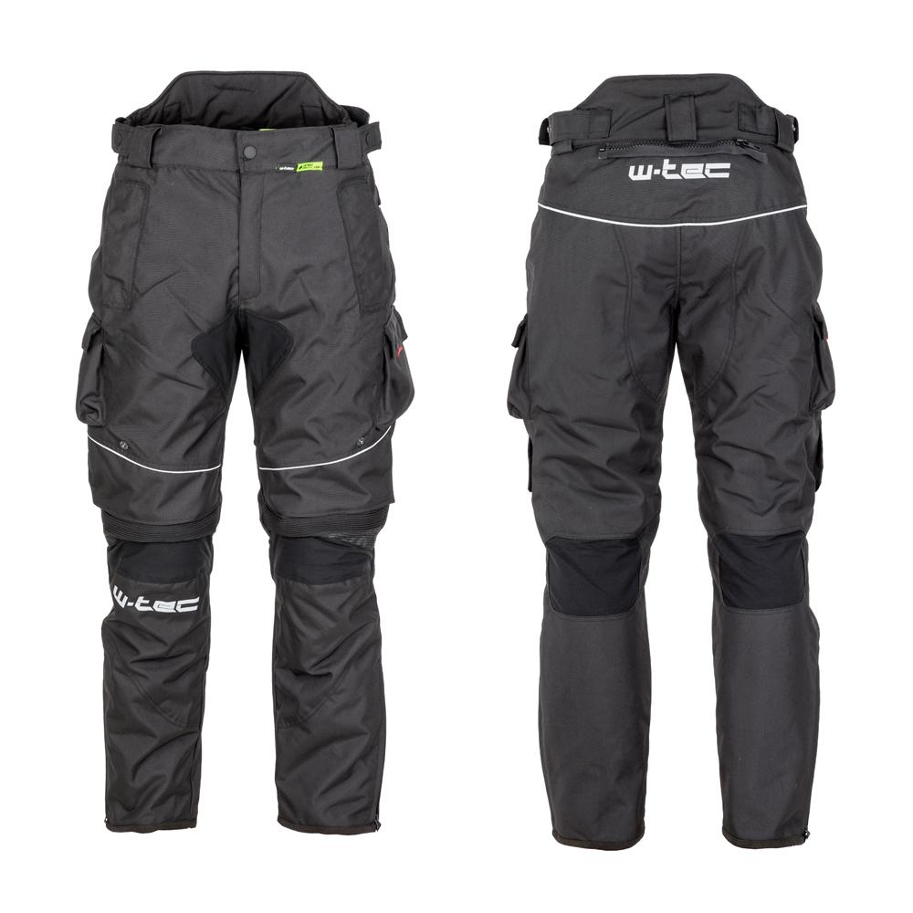 Pánské moto kalhoty W-TEC Thollte Black - S