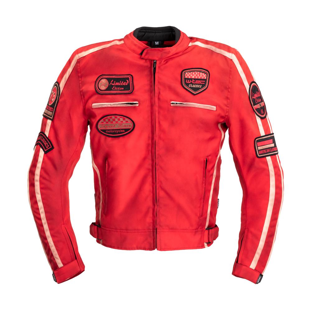 Pánská Textilní Bunda W-Tec Patriot Red  Červená  S