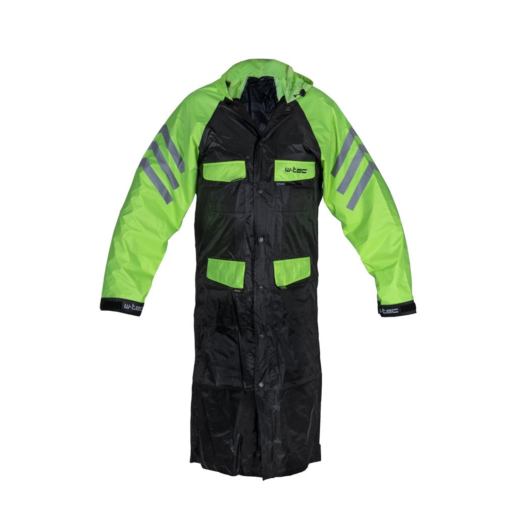 Levně Moto Pláštěnka W-Tec Quilda Černá-Fluo Žlutá Xl