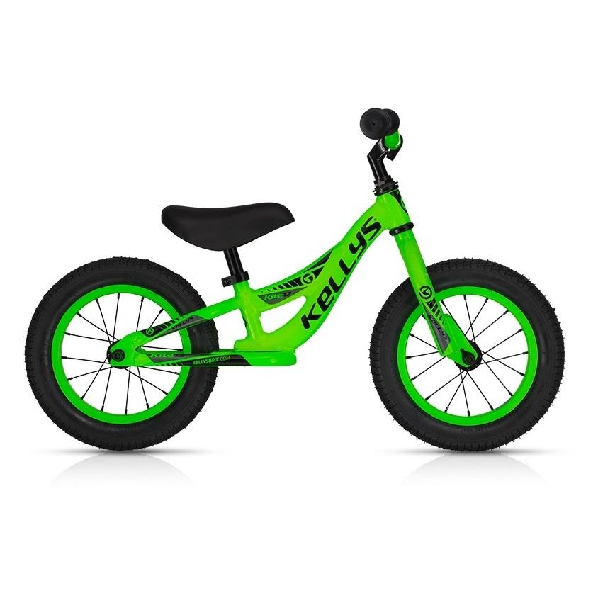 Odrážedlo KELLYS KITE 12 neonově zelená - Záruka 5 let