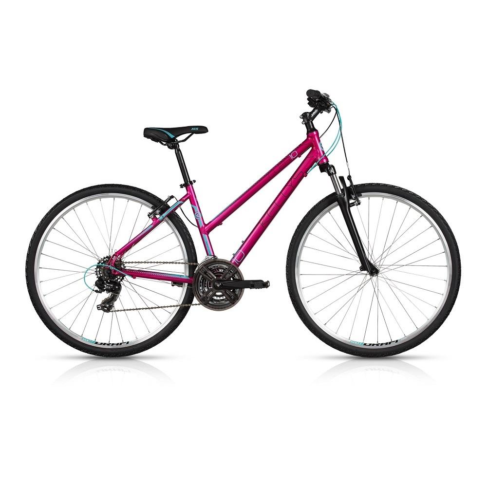 """Dámské crossové kolo KELLYS CLEA 10 28"""" - model 2017 Violet - 430 mm (17"""") - Záruka 10 let"""