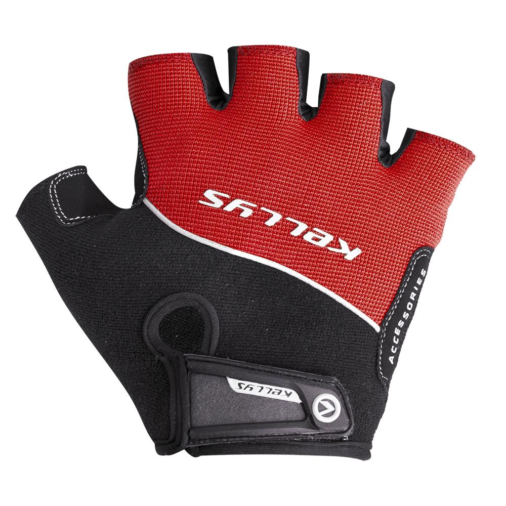 Cyklo rukavice Kellys Race červená - XL