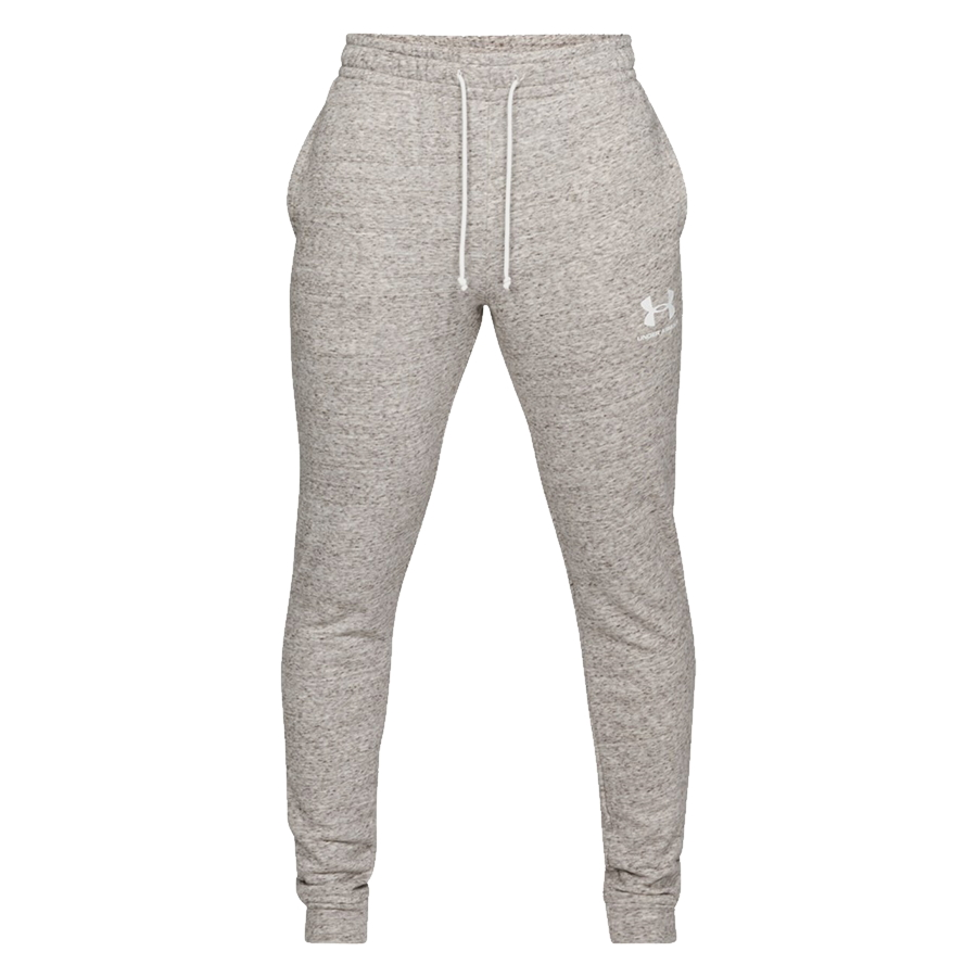 Under Armour Sportstyle Terry Jogger Onyx White - S