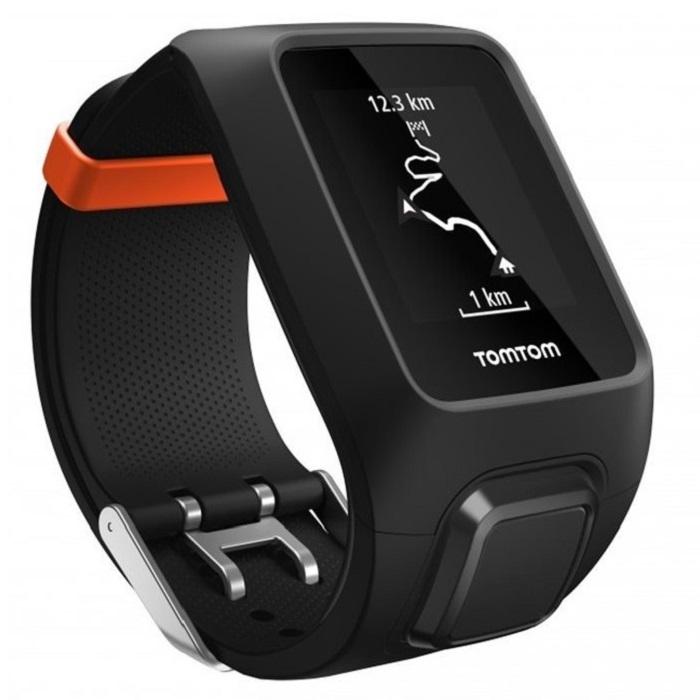 GPS hodinky TomTom Adventurer Cardio + Music černá