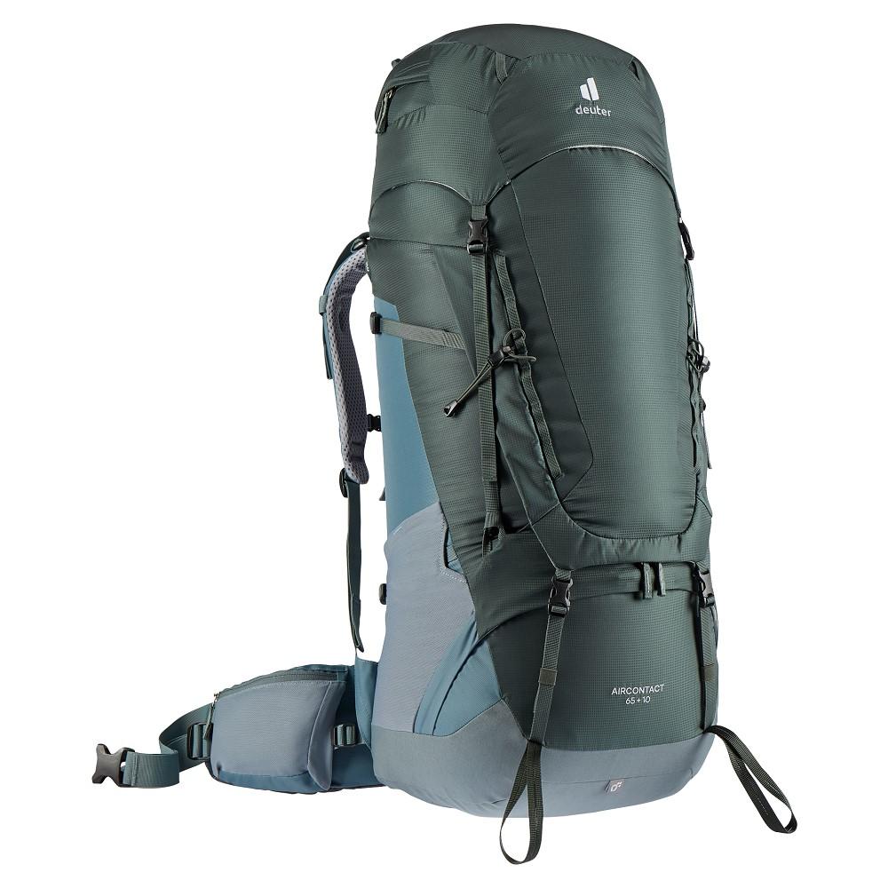 Turistický batoh Deuter Aircontact 65 + 10 ivy-teal