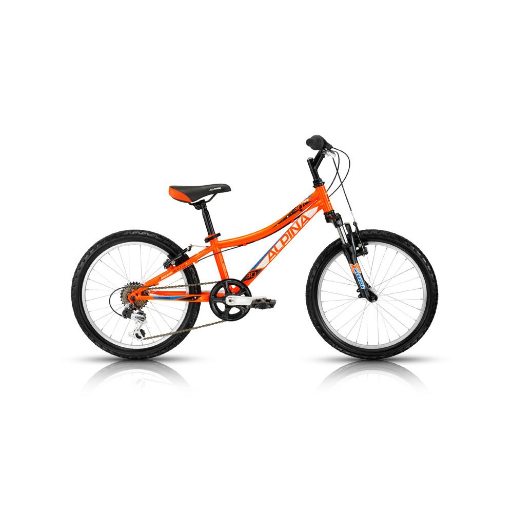 """Dětské kolo KELLYS ALPINA BESTAR 30 20"""" - model 2015 oranžová - 255 mm (10"""") - záruka 5 let"""