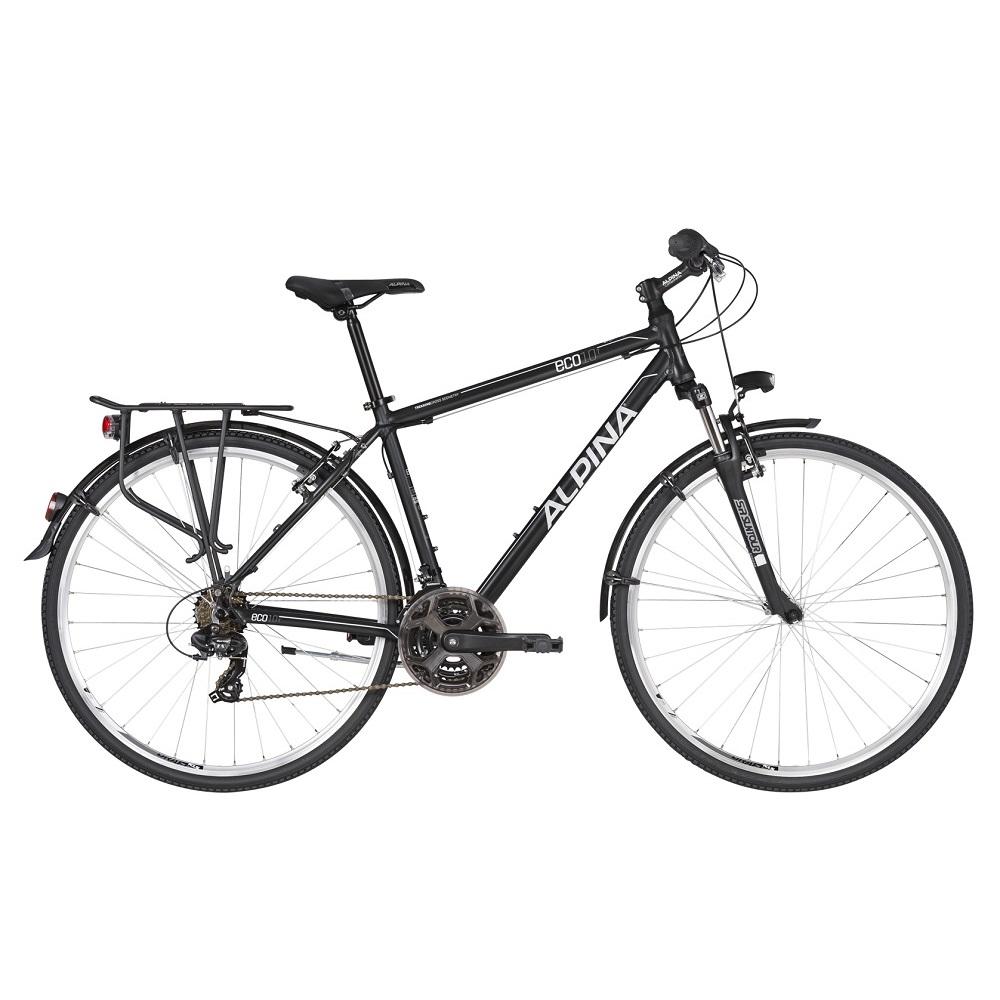 """Pánské trekingové kolo ALPINA ECO T10 28"""" - model 2020 Grey - M (19'') - Záruka 10 let"""