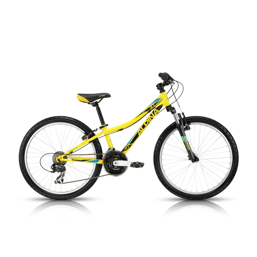 "Juniorské kolo ALPINA Rockstar 30 24"" - model 2016 280 mm (11"")"