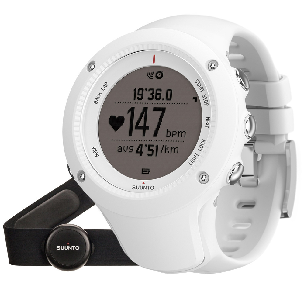 Suunto Ambit3 Run HR bílá