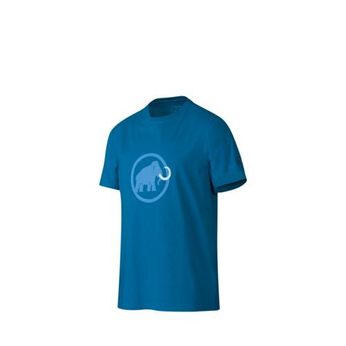 Pánské sportovní tričko MAMMUT - krátký rukáv světle modrá - M