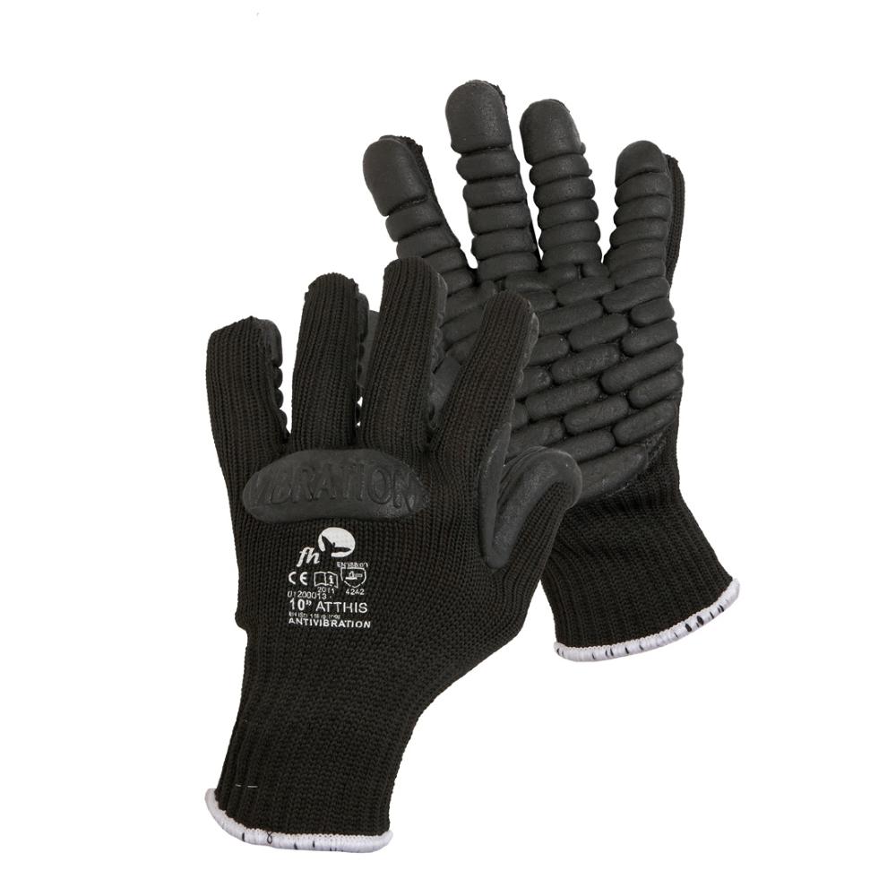 Antivibrační rukavice Atthis černá - 10
